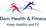 dam health and fitness logo